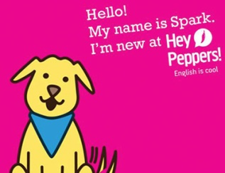 Mascote Hey Peppers